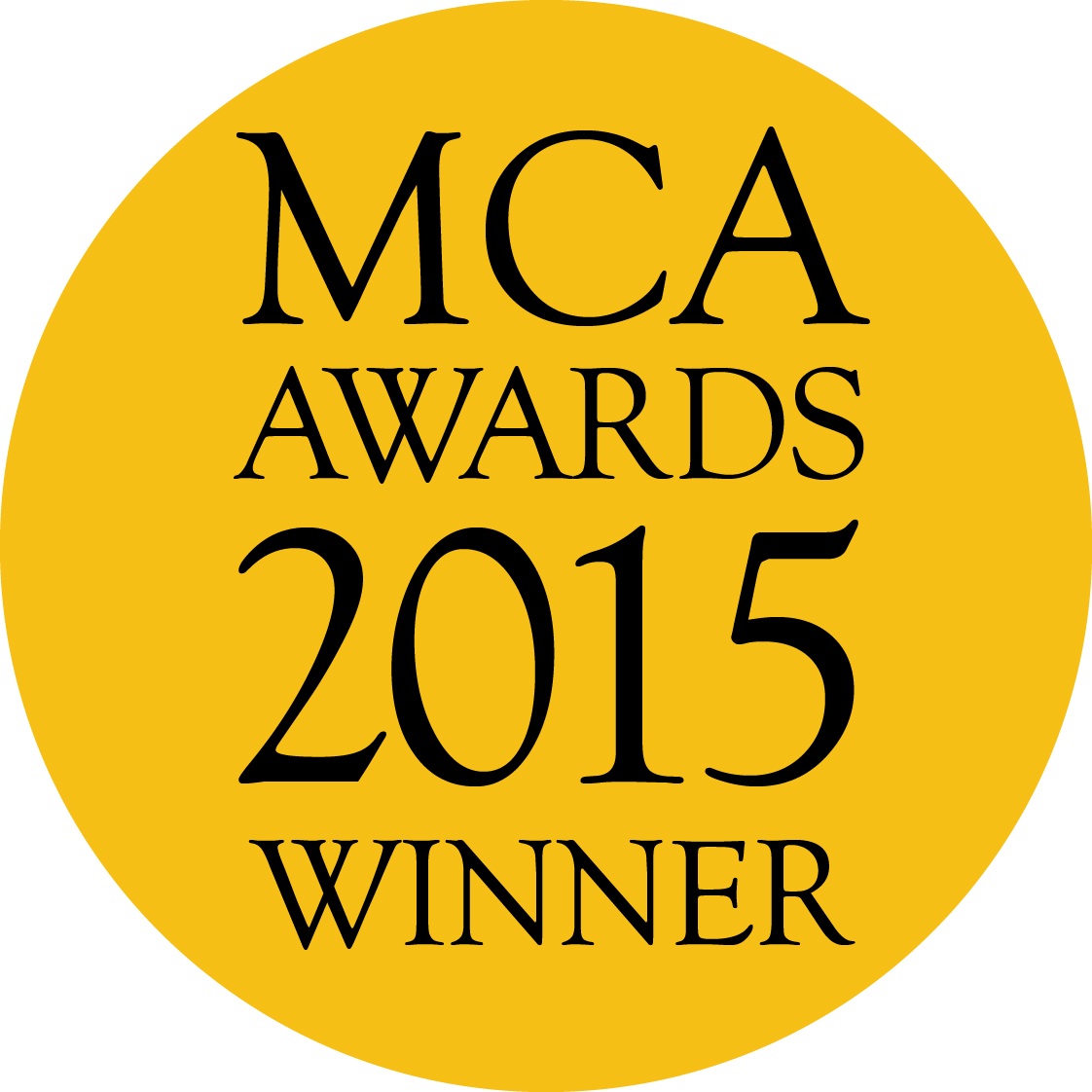 MCA2015 LOGO_winner (black)